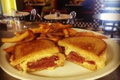 Midway Diner reuben sandwich