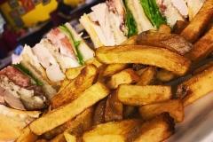 Midway Diner club sandwich