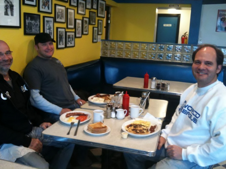 Midway Diner customers