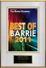 Barrie examiner award